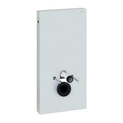 Panneau sanitaire pour cuvette WC Geberit Monolith verre blanc 101cm