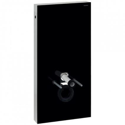 Panneau sanitaire pour cuvette WC Geberit Monolith verre noir 101cm