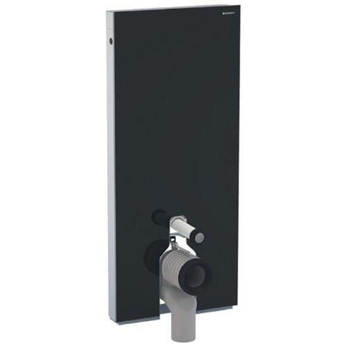 Panneau sanitaire pour cuvette WC Geberit Monolith verre noir 114cm