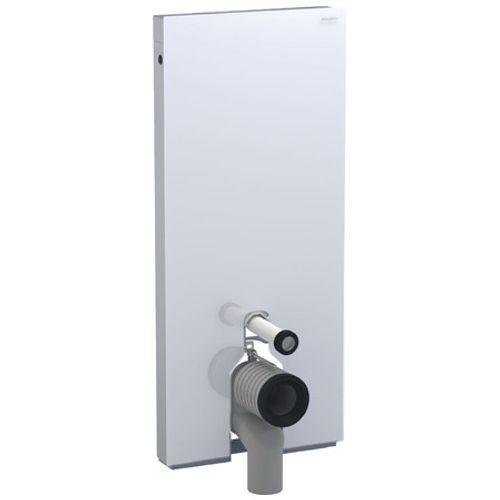 Panneau sanitaire pour cuvette WC Geberit Monolith verre blanc 114cm