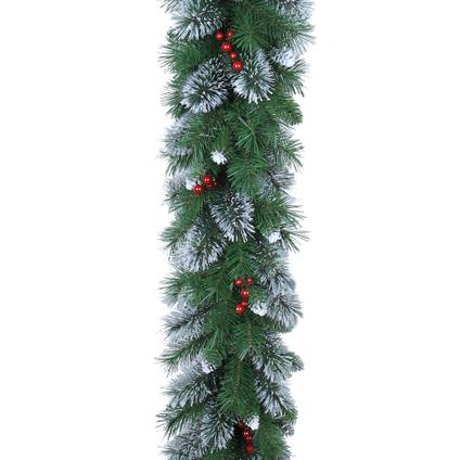 Guirlande de Noël aux baies Central Park 1,8m