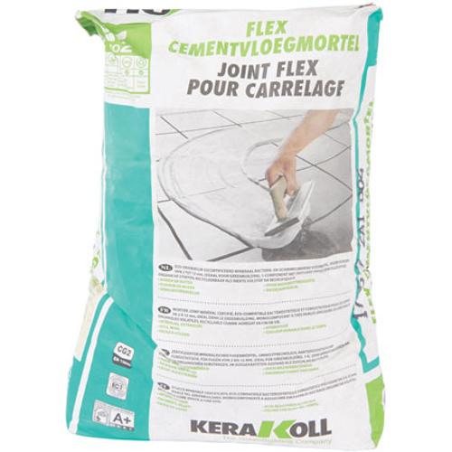 Poudre de jointoiement Kerakoll 'Flex' gris 25 kg
