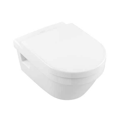 Villeroy & Boch wandcloset Targa porselein met toiletzitting wit 53x37x33cm
