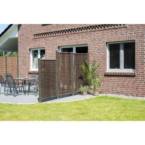 Brise-vue Öland plastique brun 180x258cm