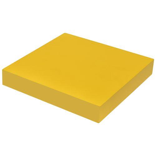 Étagère murale Duraline XL4 laque jaune 38mm 23,5x23,5cm