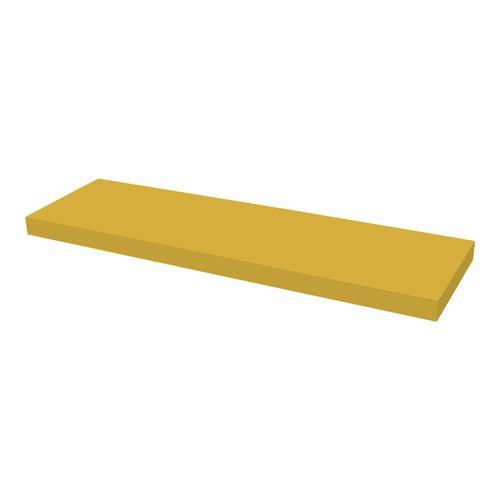 Étagère murale Duraline XL4 laque jaune 38mm 80x23,5cm