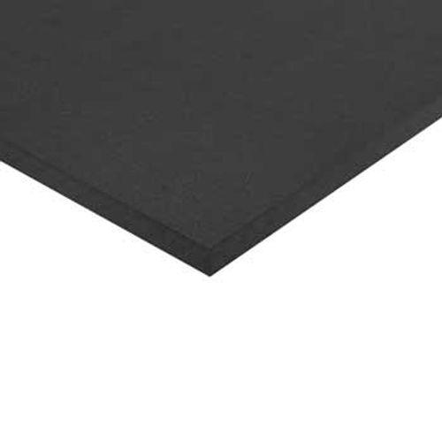 MDF plaat zwart 122 x 244 x 1,8 cm