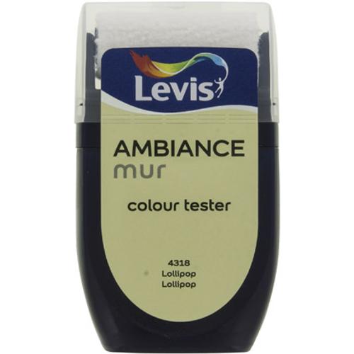 Levis muurverf 'Ambiance Extra Mat' lollipop mat 30ml