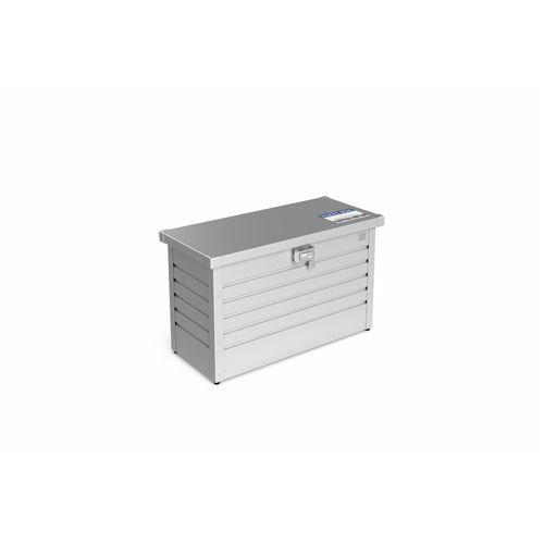 Biohort opbergbox tuin 'Pakket-Box 100' zilver metallic 101 x 46 cm