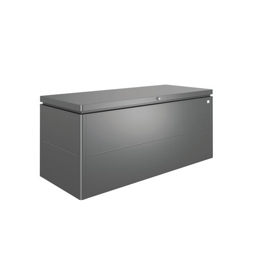 Coffre de Jardin Biohort LoungeBox 200 gris fonce 84x200cm