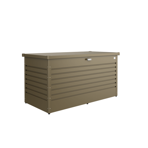 Biohort opbergbox tuin 'Hobby 160' brons metallic 160 x 79 cm