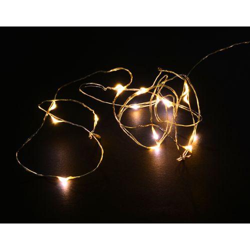 Central Park kerstverlichting X-Mas goud warm wit 20 lampjes
