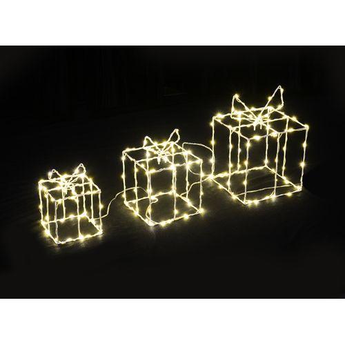 Luminaire cadeaux Central Park X-Mas blanc chaud 200 ampoules
