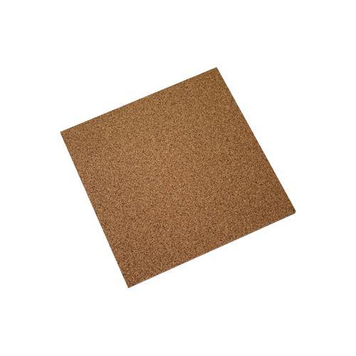 Dalle Nature liège 50x50cmx6mm brun 1m²