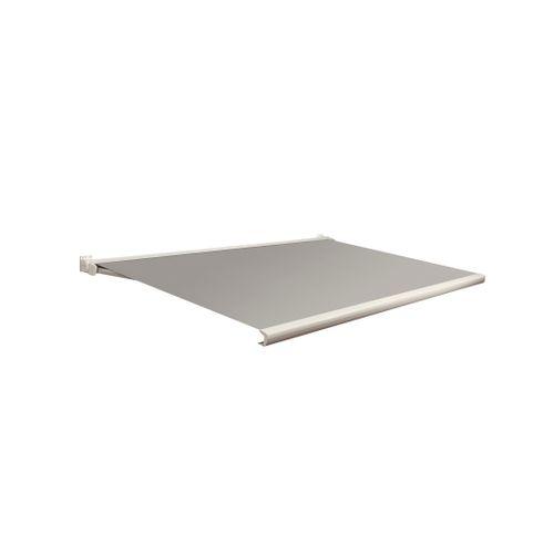 Domasol zonnescherm elektrisch met afstandsbediening Factor 20-C grijs 350x300cm