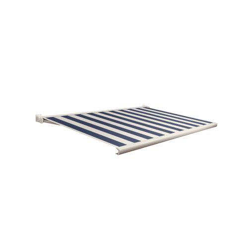Domasol zonnescherm elektrisch met afstandsbediening Factor 20-C blauw/witte strepen 350x300cm