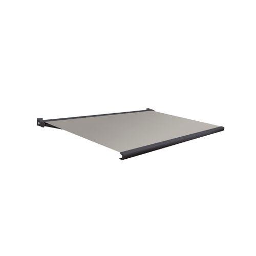 Domasol zonnescherm elektrisch met afstandsbediening Factor 20-A grijs 550x250cm