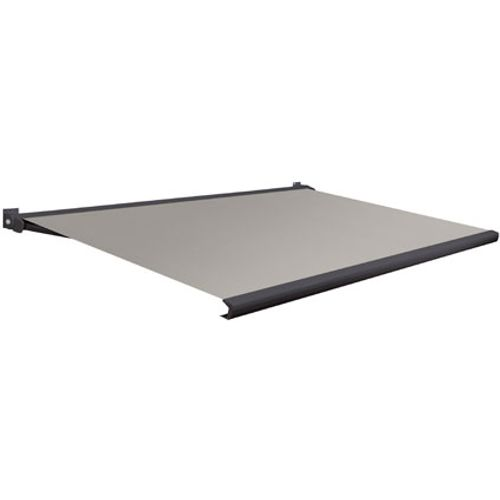 Domasol zonnescherm elektrisch met afstandsbediening Factor 20-A grijs 350x300cm