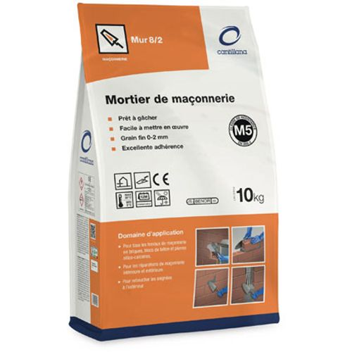 Mortier de jointement Cantillana 'MUR 8/2' 10 kg