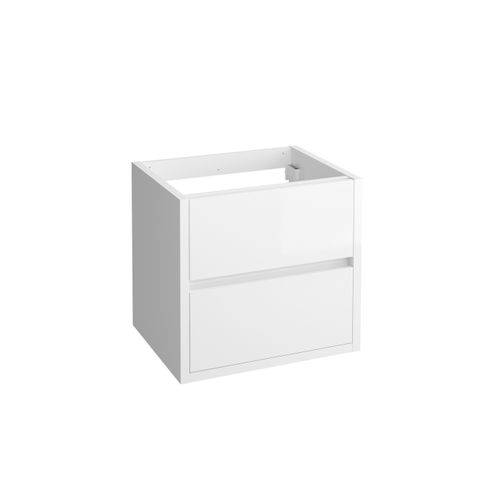 Meuble sous-lavabo Allibert Sense blanc brillant 60cm