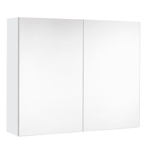 Armoire de toilette Allibert Look brillant blanc 80cm