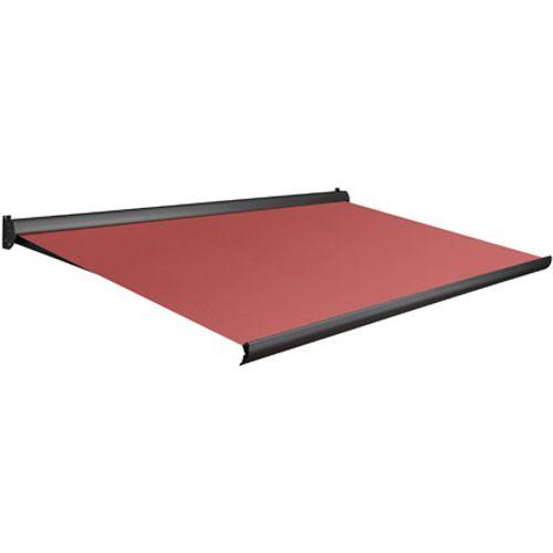 Tente solaire électrique Domasol 'Factor 10-A' rouge 500 x 300 cm