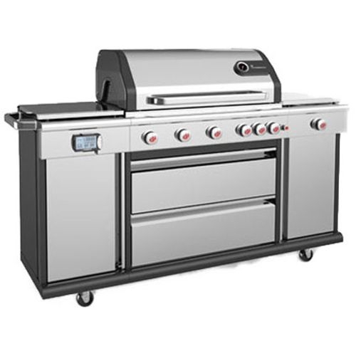 Landmann gasbarbecue Triton PTS6.1 26,3kW zilver