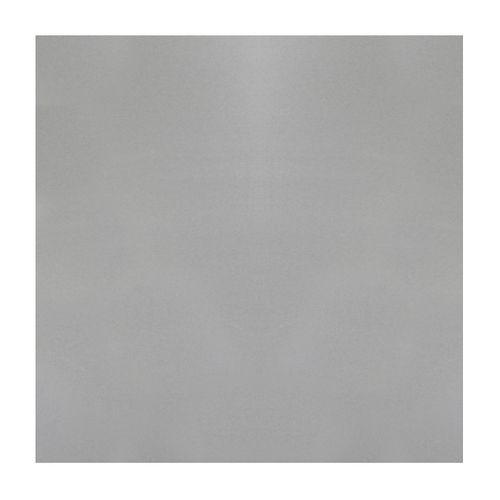 Tôle GAH Alberts aluminium lisse gris 100 x 12 cm x 1 mm