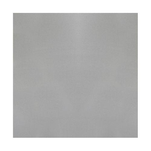 Tôle GAH Alberts aluminium lisse gris 100 x 60 cm x 1 mm