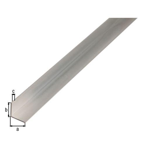 Profil d'angle GAH Alberts aluminium blanc 35x35x1,5mm 2,6m