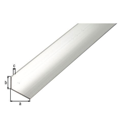 Profilé L GAH Alberts aluminium gris 2,6 m x 5 cm