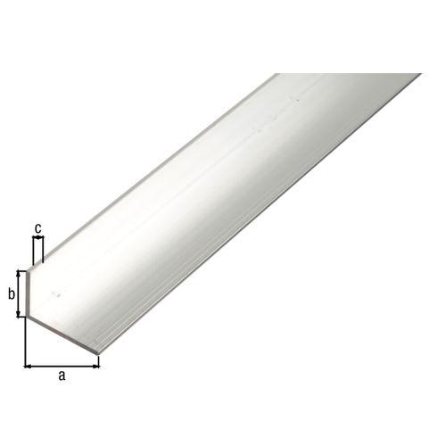 GAH Alberts L-hoekprofiel aluminium grijs 2,6 m x 2 cm