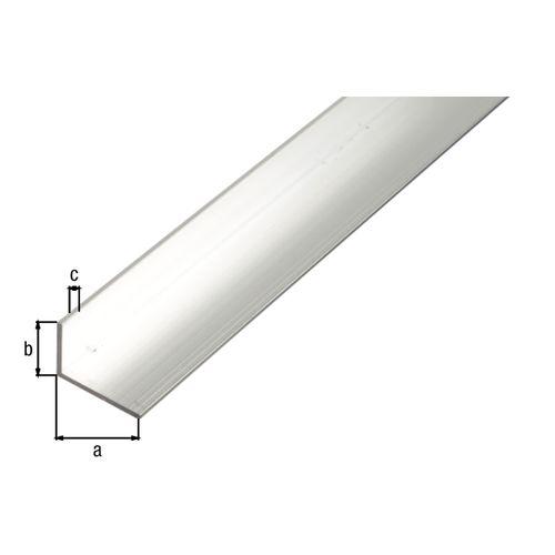 Profilé L GAH Alberts aluminium gris 2,6 m x 4 cm