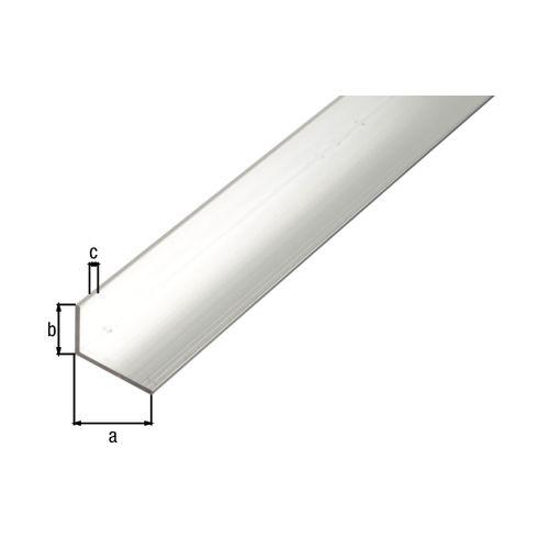 Profilé L GAH Alberts aluminium gris 2,6 m x 3 cm