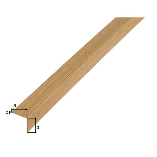 GAH Alberts L-hoekprofiel kunststof heik 2 m x 2 cm