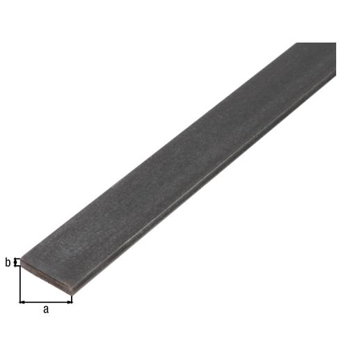 GAH Alberts platprofiel staal antraciet 2 m x 4 cm