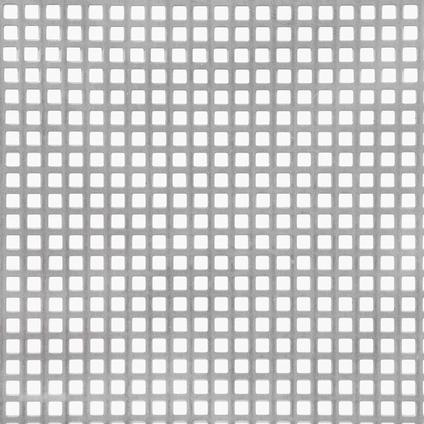 GAH Alberts staal geperforeerd grijs 50 x 25 cm x 1 mm