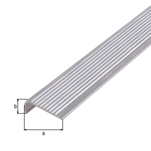 GAH Alberts trapneus aluminium grijs 1 m x 3 cm