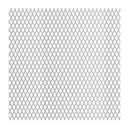GAH Alberts staal strek grijs 100 x 12 cm x 2,8 mm