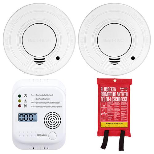 Set prévention incendies Alecto 'SDB-1403'