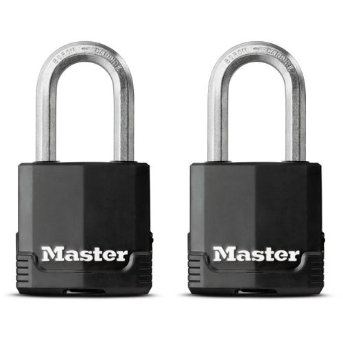 Master Lock hangslot Excell 49mm + beugel 38mm 2st.