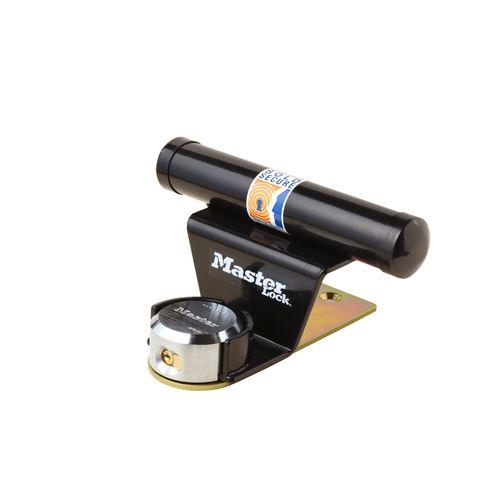 Master Lock hangslot met sleutel '1488EURDAT' staal zwart 22,5 cm