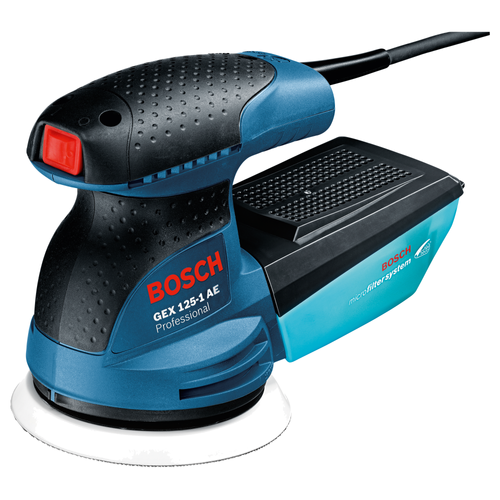 Ponceuse excentrique Bosch Professional 'GEX125-1' 250W
