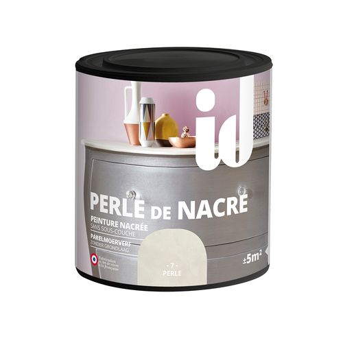 ID verf 'Perle de Nacre' parel satijn 500ml