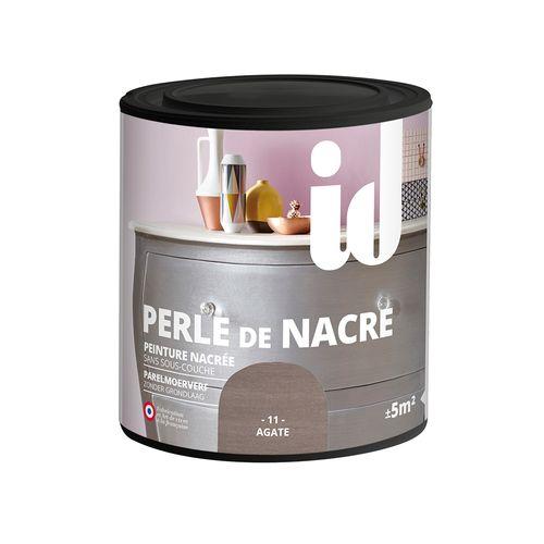 Peinture pour meuble ID Perle de nacre agate 500ml