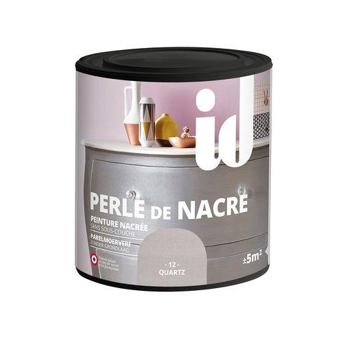 Peinture pour meuble ID Perle de nacre quartz 500ml