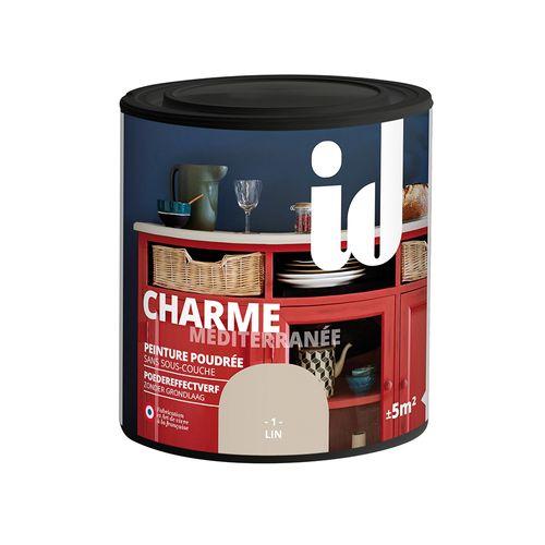 Peinture Les Décoratives 'Charme' lin mat 500ml