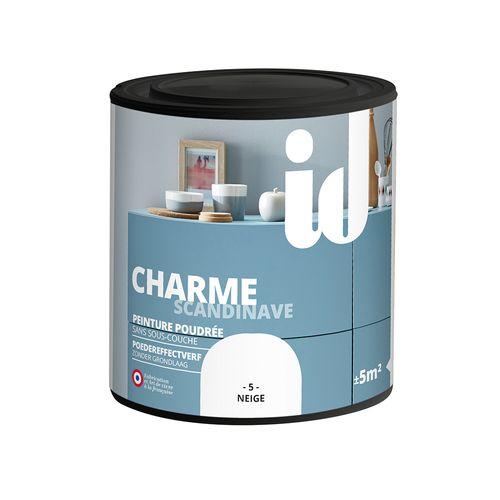 Peinture Les Décoratives 'Charme' neige mat 500ml