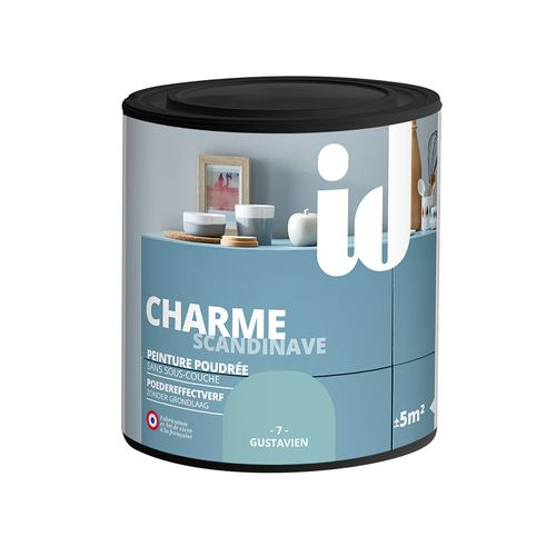 Peinture Les Décoratives 'Charme' gustavien mat 500ml