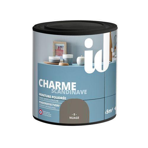 Peinture Les Décoratives 'Charme' nuage mat 500ml